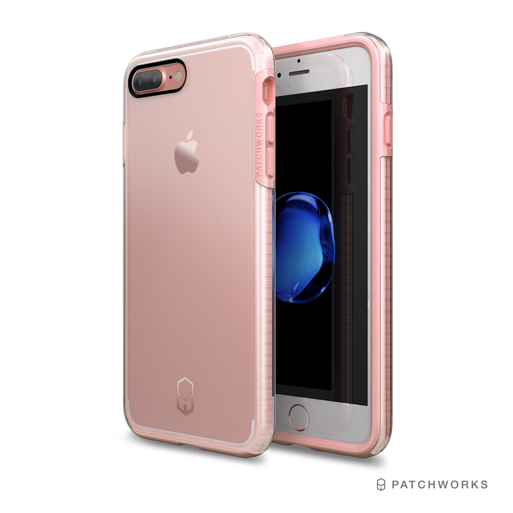 Patchworks iPhone 8/ 7 Plus 雙層防摔氣墊邊框手機殼 @ Y!購物