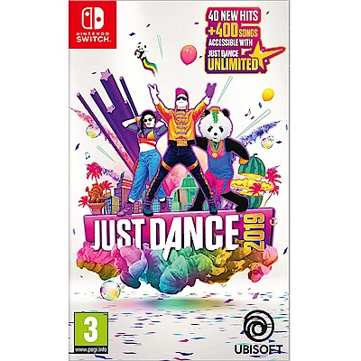 舞力全開 2019 Just Dance 2019  - NS Switch 中英日文亞版