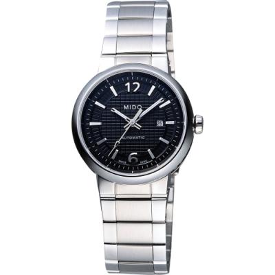 MIDO Great Wall 長城系列機械腕錶-黑/31mm M0152301105700