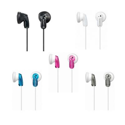 [福利品]SONY多彩耳塞式耳機MDR-E9LP散裝隨機色兩入