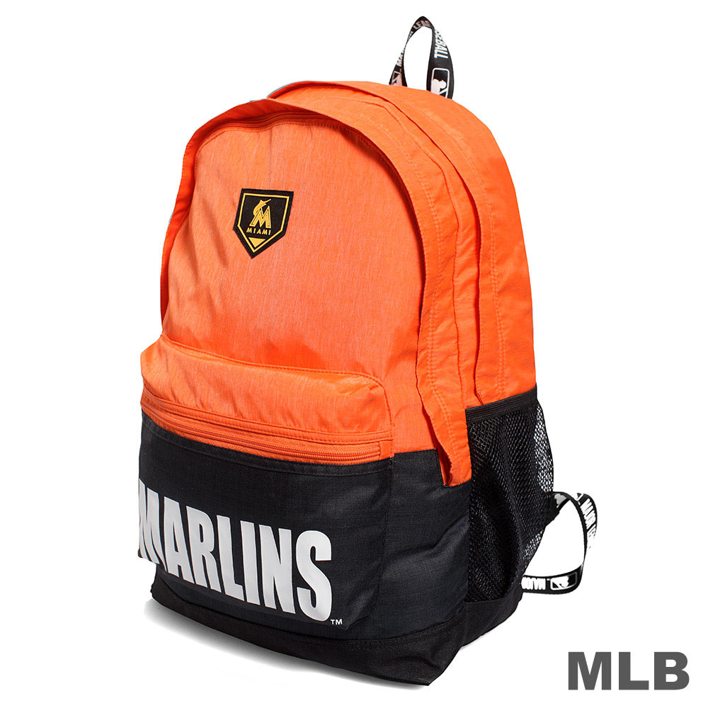 MLB-經典球隊撞色款後背包-紅襪/洋基/馬林魚