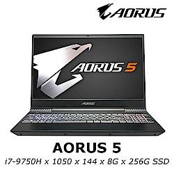 AORUS 5 電競筆電 i7-9750H / GT