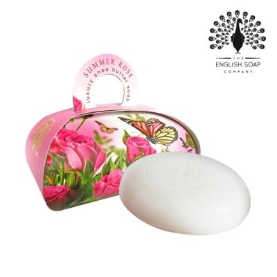 The English Soap Company 乳木果油植萃香氛皂-夏日玫瑰 Summer Rose 260g