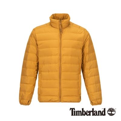Timberland 男款小麥色保暖立領羽絨外套|A1NDQ
