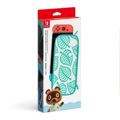 任天堂 Nintendo Switch 集合啦!動物森友會版 主機收納包 含保護貼