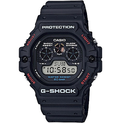G-SHOCK 街頭時尚DW-5900系列復刻版(DW-5900-1)-51.4mm