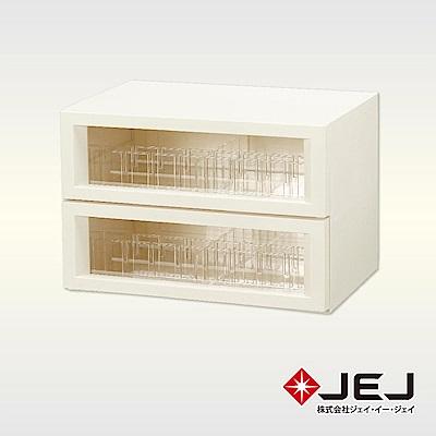 日本JEJ SURFACE系列 多功能透明抽屜組/sun 2色可選