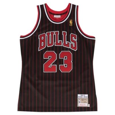 M&N Authentic球員版復古球衣 公牛隊 96-97 #23 Michael Jordan