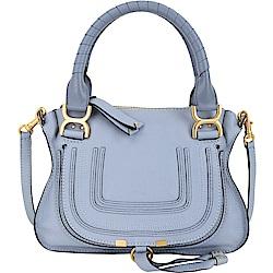 CHLOE 小型牛皮手提肩背Marcie Bag(水藍色)