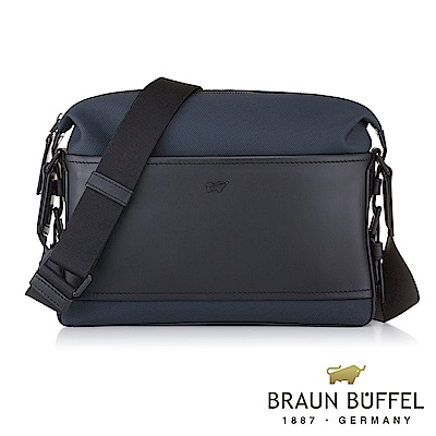 BRAUN BUFFEL - 尼爾系列潮流斜背包 - 太空藍