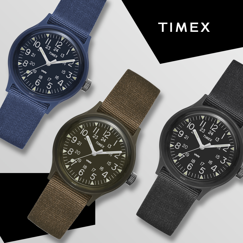 [時時樂限定]TIMEX 天美時 MK1 潮流軍錶-三款任選/36mm