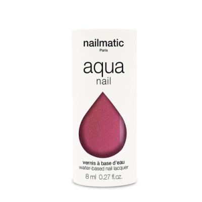 法國 Nailmatic 水系列經典指甲油 - Camelia 珍珠紫紅 - 8ml
