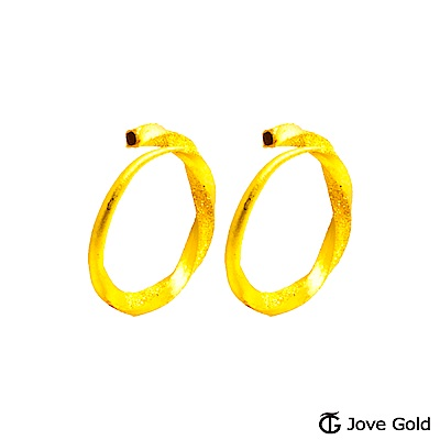 Jove gold 謬思黃金耳環