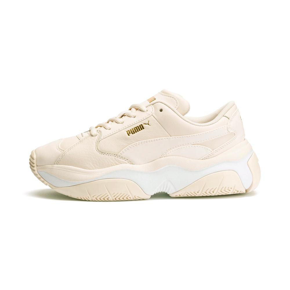 PUMA-STORM.Y L Wns 女性復古慢跑運動鞋-米白