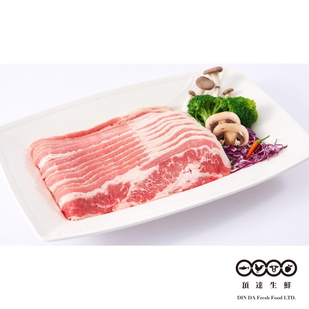 任-【頂達生鮮】美國牛雪花肉片(400g/盒)