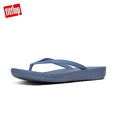 FitFlop IQUSHION夾腳涼鞋藍色