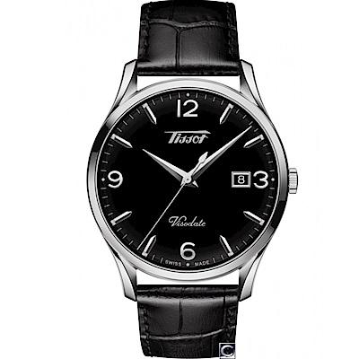 TISSOT天梭HERITAGE VISODATE復刻腕錶(T1184101605700)