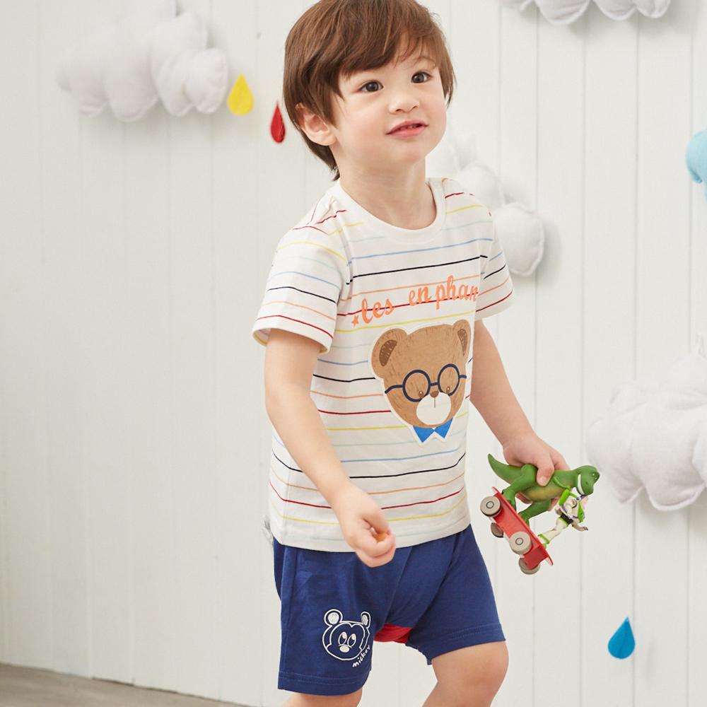 Disney baby米奇系列塗鴨米奇活力短褲(2色可選)