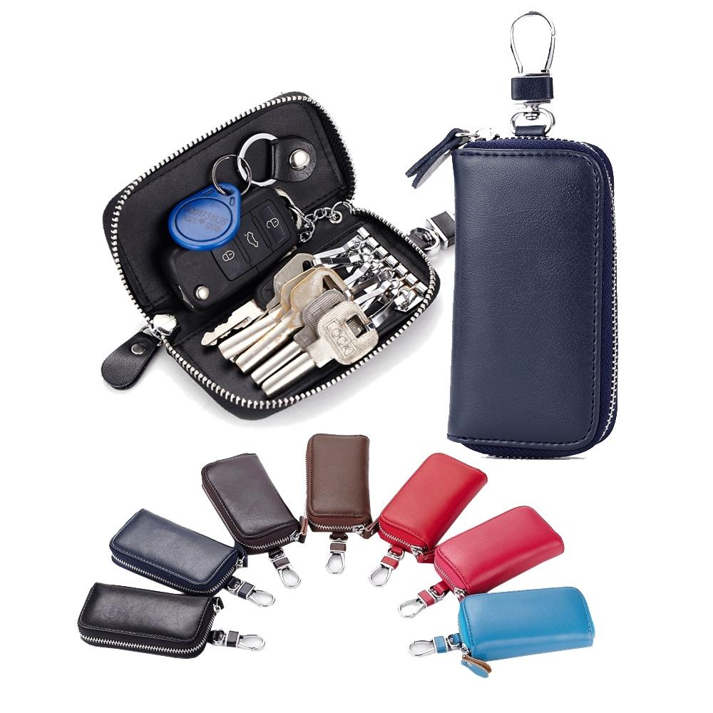 玩皮工坊-真皮牛皮腰掛汽車鑰匙包鑰匙圈鑰匙套-KB39
