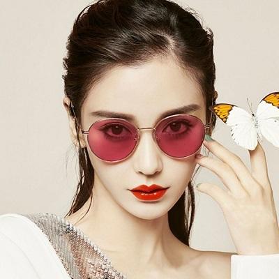 MOLSION太陽眼鏡 Angelababy代言/金 #MS7072 A30