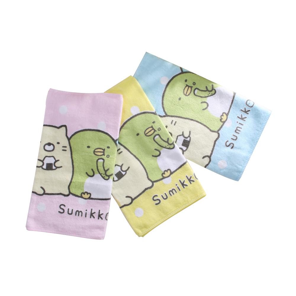 角落小夥伴毛巾(同色2條一組) c0166 魔法Baby