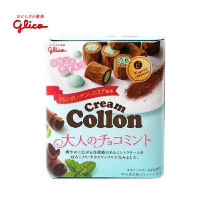 Glico格力高 香醇捲心餅-薄荷風味(48g)