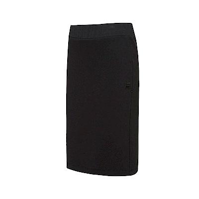 FILA #漢城企劃 女款窄裙-黑 5SKT-1426-BK