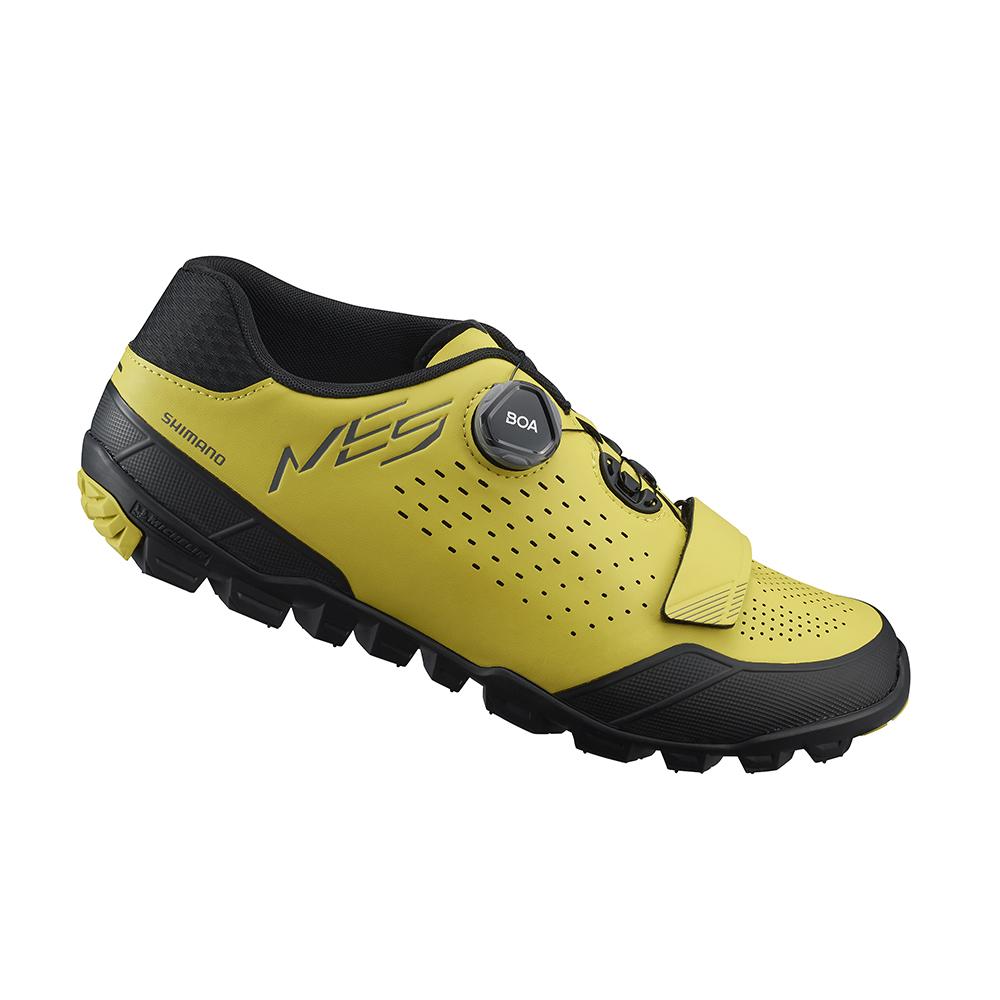 【SHIMANO】ME501 男性林道越野性能車鞋 黃色