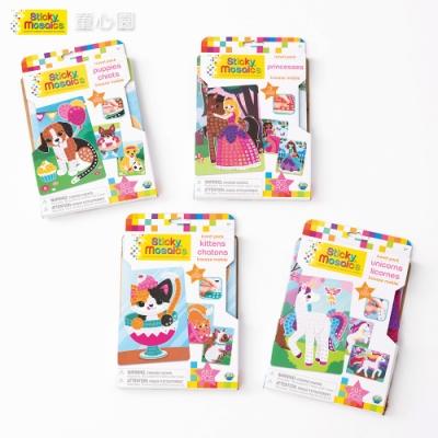Sticky Mosaics 馬賽克拼貼旅遊包組(獨角獸、公主、小貓、小狗)(5Y+)
