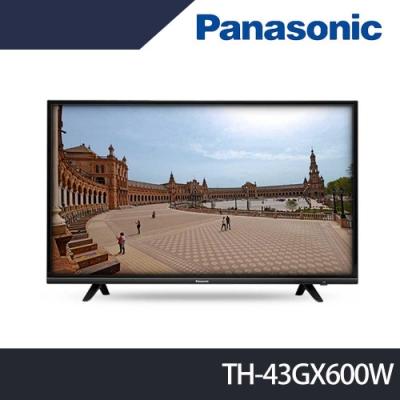 Panasonic國際牌 43吋 4K HDR 液晶顯示器+視訊盒 TH-43GX600W