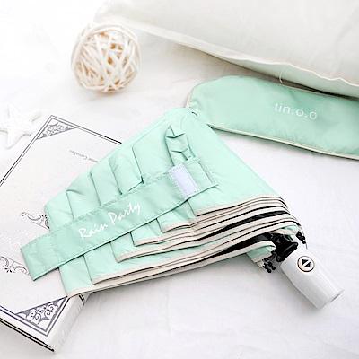 好傘王 自動傘系-輕白限量款瑜珈自動傘(綠色)
