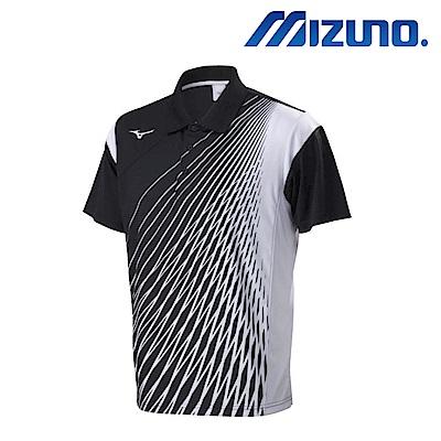 MIZUNO 美津濃 男羽球短袖POLO衫 72TA801609