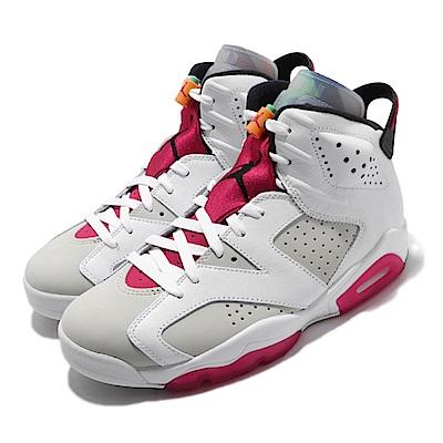 Nike 休閒鞋 Air Jordan 6代 Retro 男鞋 Hare 高筒 兔寶寶 喬丹 AJ6 白 紅 CT8529062