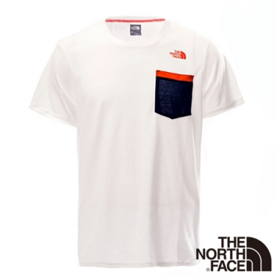 The North Face  SCafe短袖T 男  白-NF00CZJ6FN4-AA