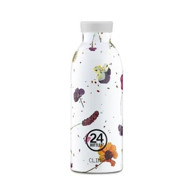 義大利-24Bottles 不鏽鋼雙層保溫瓶-500ml(附濾茶器)-春塵