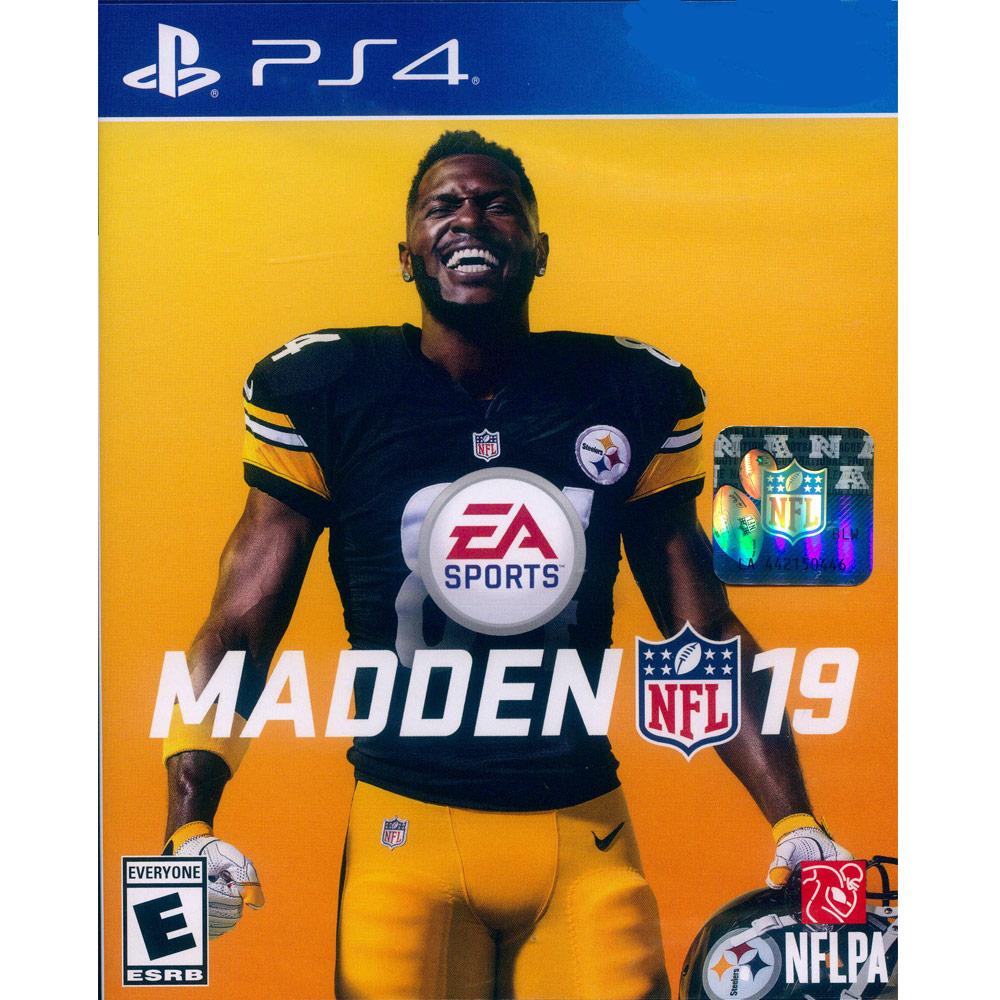 勁爆美式足球 19 MADDEN NFL 19 - PS4 英文美版