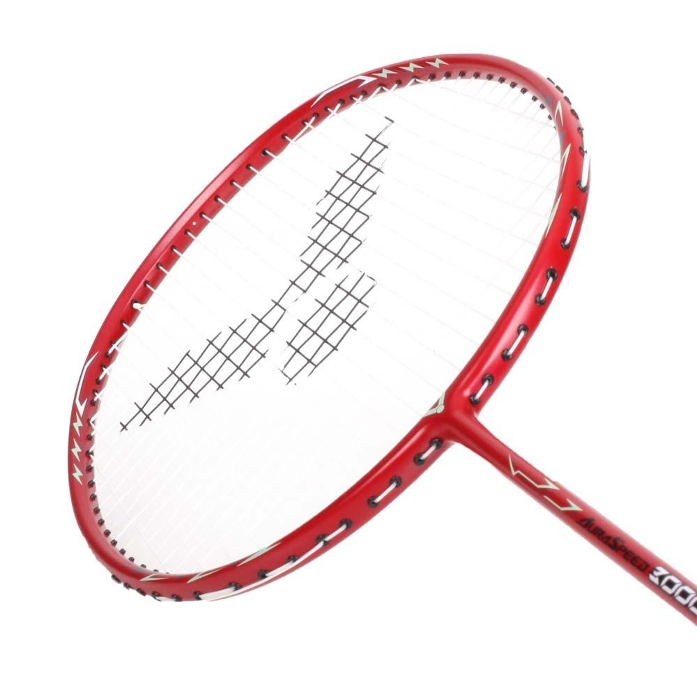 VICTOR 速度穿線拍-羽毛球拍 羽球 勝利 ARS-3000S-4U 酒紅粉綠