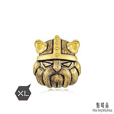 點睛品 Charme XL 酷黑系列 勇猛 黃金轉運珠