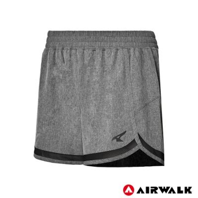 【AIRWALK】女款平織短褲-共兩色