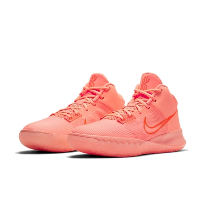 Nike 籃球鞋 Kyrie Flytrap IV 男鞋 明星款 避震 包覆 支撐 運動 球鞋 粉橘 CT1973800