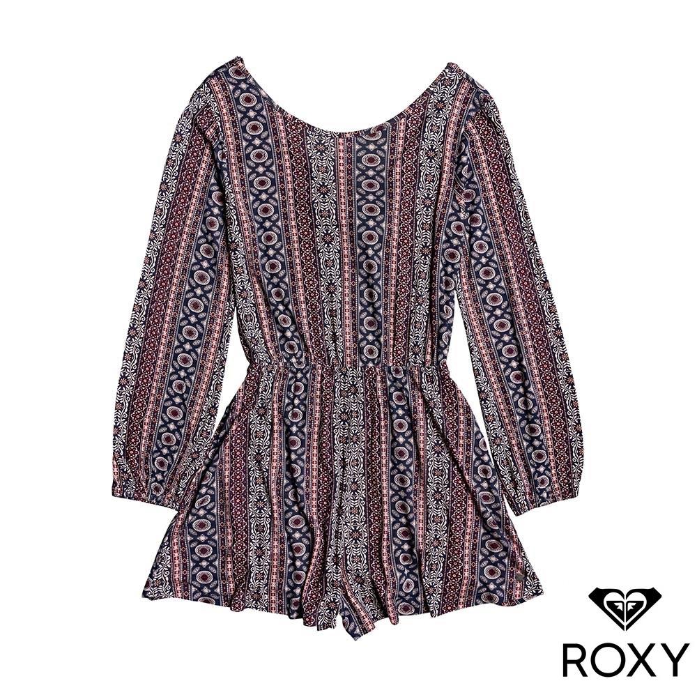【ROXY】PRETTY STARDUST 連身褲 紫紅