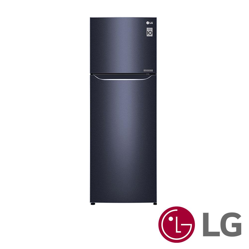 [無卡分期12期] LG樂金 315L 1級變頻2門電冰箱 GN-L397C 星曜藍