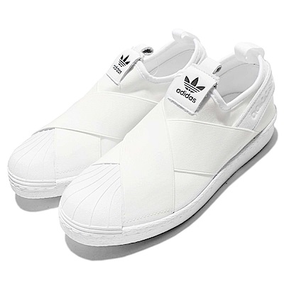 adidas休閒鞋Superstar Slip On女鞋