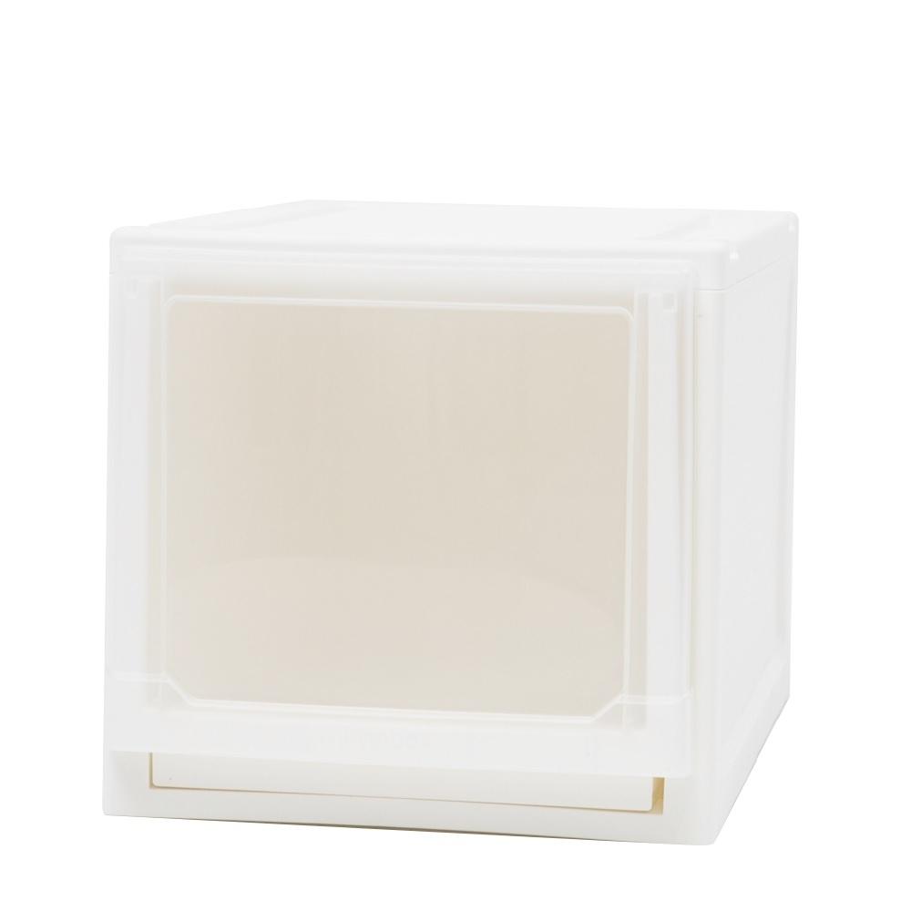完美主義 加高可堆疊收納箱/塑膠櫃/收納櫃 1入(2色) product image 1