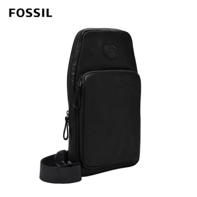 FOSSIL Sport 單肩斜背包-黑色 MBG9529001