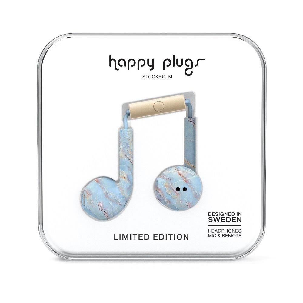 Happy plugs 極致耳塞式耳機 - 藍石英