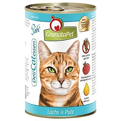 葛蕾特 貪吃貓無穀主食罐 400g 六罐組