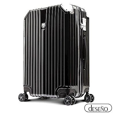 Marvel 復仇者聯盟系列 25吋 新型拉鍊行李箱-黑豹