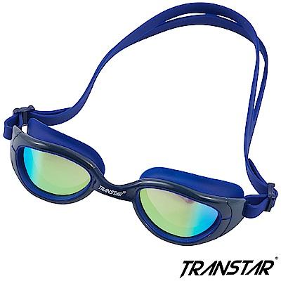 TRANSTAR 泳鏡 科技偏光鏡片-抗UV防霧矽膠-4400