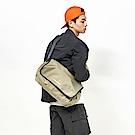 RAWROW-廣場系列-肩/側背郵差包(大,37x22cm)-橄欖綠-RMS600OL